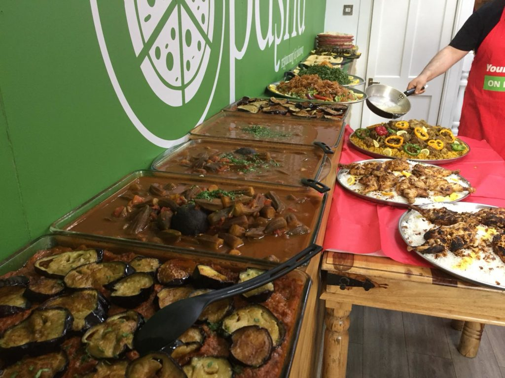 Middel East Food Catering For Glasgow