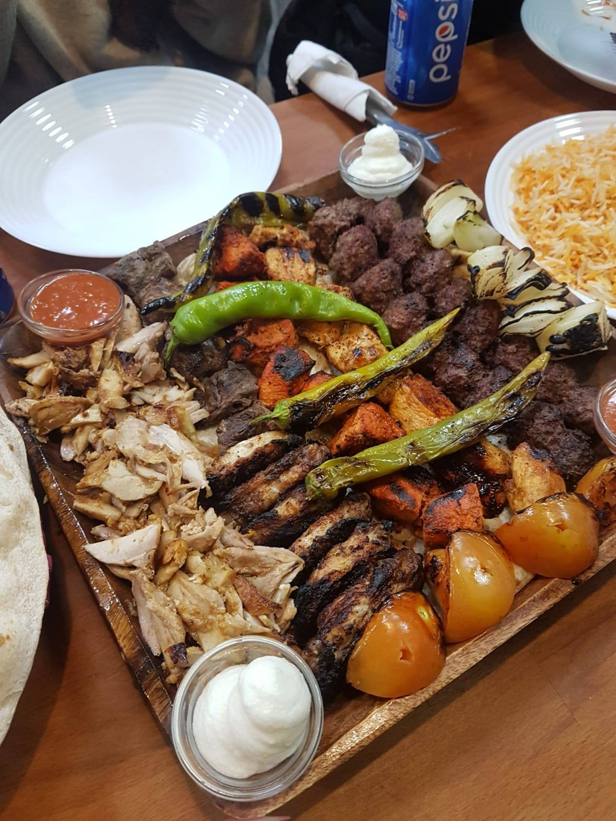 Best Kebab in Glasgow Mixed Grill For Two